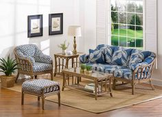 Order a wicker dining set, or indoor wicker furniture sets from Wicker Paradise. We have wicker furniture for sale that fits any style. Wicker Furniture For Sale, Cane Furniture, Cottage Furniture, Bamboo Furniture, Farmhouse Furniture, Colorful Furniture, Outdoor Furniture Sets, Furniture Design, Furniture Nyc