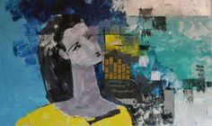 "Saatchi Art Artist Tapas Roy; Painting, ""Untitled"" #art"