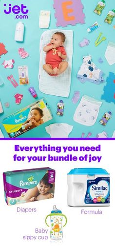 Got a bouncing bundle of joy at home? Shop Jet.com to save on the best newborn diapers, clothing, formula, car seats, strollers, and more!