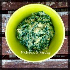 Patrícia is cooking.: Esparregado de acelgas {vegan} / Mashed Chard {veg...