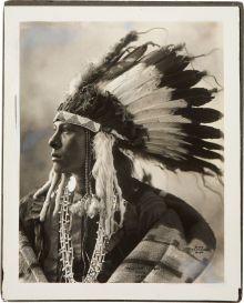 Medicine Cloud (Mahpiya Wakan),   Oglala Lakota,  Frank A. Rinehart, at Pine Ridge, S.D., 1899