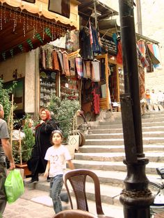 Behind the Mosque, Damascus, April 2006, Syria photography by cityhopper2