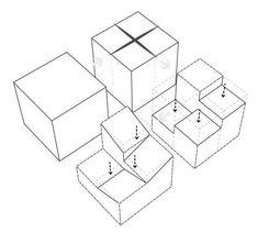 実演!建築ダイアグラムの描き方 - 建築プレゼンの道標 Architecture Concept Diagram, Infographic, Decorative Boxes, Proposal, Graphics, Body Drawing Tutorial, Infographics, Graphic Design