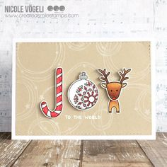 Hello crafty friends, Nicole here. I'm sure you've seen the awesome release! I can't stop playing with it. It's so cute, elegant and fu...