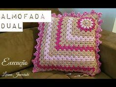 ALMOFADA COM SQUARE /DIANE GONÇALVES - YouTube