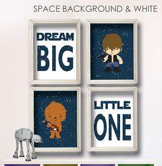 Baby Boy Star Wars Nursery Art Boy Room Decor by StarWarsPrintShop, $34.00