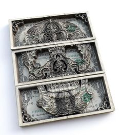 Money Paper Art