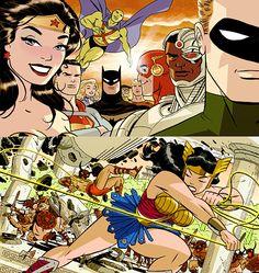 Justice League - Darwyn Cooke