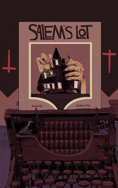 Salem Lot, Satanic Art, Novels, Photo And Video, Movie Posters, King, Film Poster, Demon Art, Billboard