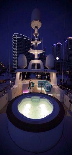 Spa on Luxury Yacht