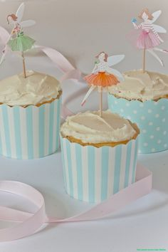 White Chocolate and Lemon Curd Cupcakes