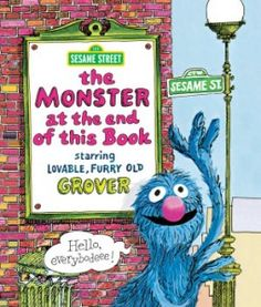 """Sesame Street books were well used at our house! """"Monster at the end of this Book"""" is one we liked a lot."""