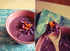Una gatta in cucina: Zuppa di cavolo viola arrosto