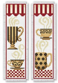Bookmark Medley presents 14 charming cross stitch designs to mark your spot in your favorite books! From ow Cross Stitch Kitchen, Cross Stitch Books, Cross Stitch Bookmarks, Cross Stitch Fabric, Cross Stitch Borders, Cross Stitch Alphabet, Cross Stitch Charts, Cross Stitch Designs, Cross Stitching