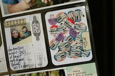 via #lisatruesdell.  put a journaling card on the fridge and everyone sticks their fruit sticker on it.  clever!