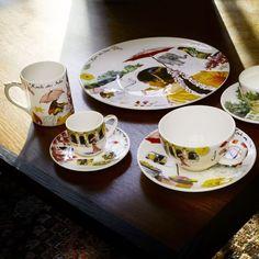"Zastawa stołowa - Faïencerie de GIEN - ""Collection Route des Indes - 1748"""