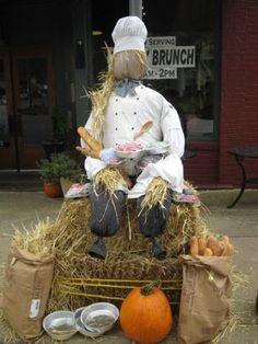 Pendleton Scarecrow Contest--Chef Scarecrow