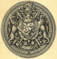 Designersgotoheaven.com - Bookplate for George Douglas, Duke of Argyll 1894 (Via crackdog)