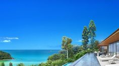 View from luxury villa in Phuket Thailand