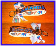 http://www.facebook.com/pages/Nicoles-Nametapes/313420668677330?ref=hl#!/pages/Nicoles-Nametapes/313420668677330 #gators #gator girl #keychain