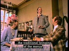 Monty Python: Bavarian Restaurant - great ref for comedy timing