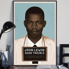 John Lewis posters available at Yahish on Etsy | AphroChic (@aphrochic) • Instagram photos and videos
