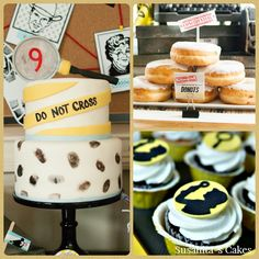 Ideas de dulces para una celebración con tema Agente Secreto ó Espìas!... combinación perfecta con el post anterior!..#ideas #cake #torta #tarta #pastel #decoratedcake #tortadecorada #dulces #postres #sweets #spyparty #agentesecreto #cupcakes #donuts #susanitascakes