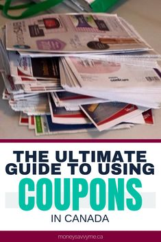 How to Use Coupons in Canada – The Ultimate Guide to Saving Money – How To Make Money management Ways To Save Money, Money Tips, Free Stuff Canada, Extreme Couponing, Couponing 101, Money Saving Mom, Savings Plan, Budgeting Money, Investing Money