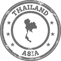 Thailand Map Asia Grunge Rubber Stamp Home Decal Vinyl Sticker X -- You can get more details by clicking on the image. (This is an affiliate link) Tumblr Stickers, Phone Stickers, Journal Stickers, Passport Invitations, Passport Stamps, Travel Stamp, Travel Logo, Book Wallpaper, Instagram Background