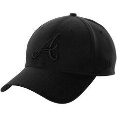 1ae530460f7 New Era Atlanta Braves 39Thirty Tonal Classic Flex Hat - Black by New Era.   24.95 · Mlb