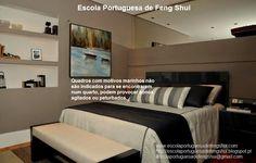Escola Portuguesa de Feng Shui: QUADROS NO QUARTO
