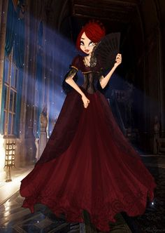 Agness by Ammreva on DeviantArt Alternative Disney Princesses, Fantasy Dress, Winx Club, Halloween, Cute Art, Ball Gowns, Anime Art, Witch, Character Design