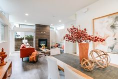 Great Room, Contemporary Design, Seattle Builder, Seattle Homes