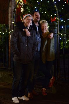 Will the Carters be able to move past their explosive Christmas and New Year? (Picture: BBC)