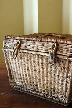 Antique Woven Basket