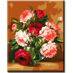 Flowers Paint by Number Kit BW7112