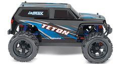 Traxxas 1/18 LaTrax® Teton 4WD 2.4GHz RTR - Blue