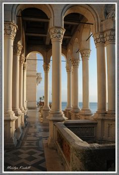 Trieste * Castello Miramare, Italy by Marilyn Kendall