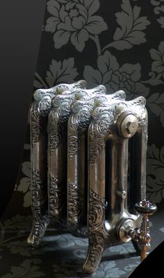 Paladin - Oxford 3 Column Radiator - Height - Various Width and Colour Options at Victorian Plumbing UK Traditional Radiators, Column Radiators, Bathroom Design Inspiration, Furniture Inspiration, Radiator Valves, Vintage Stoves, Cast Iron Radiators, Victorian Buildings, Heating Systems
