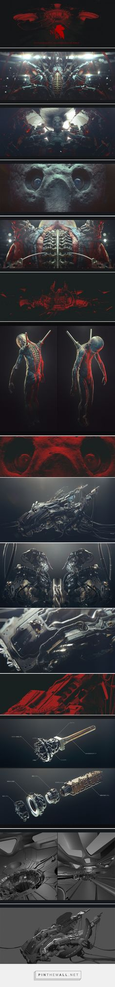 .18th — lilin. on Behance... - a grouped images picture - Pin Them All