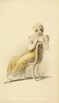 EKDuncan - My Fanciful Muse: Regency Era Fashions - Ackermann's Repository 1813