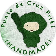 """EN PUNTO DE CRUZ: """"Punto de Cruz Friki"""" (HANDMADE): ¡NUEVO LOGO!"""