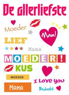 Moederdag, elke 2e zondag in mei. Moeder, oma, schoonmoeder, stiefmoeder .... even een extra momentje om stil te staan bij alles wat ze voor je hebben gedaan, doen en zullen doen.  Dat begint met een mooi kaartje, en daarnaast als het even kan met een bezoekje, een grote bos bloemen en een dikke knuffel! http://www.kaartjeposten.nl/kaarten/moederdag/