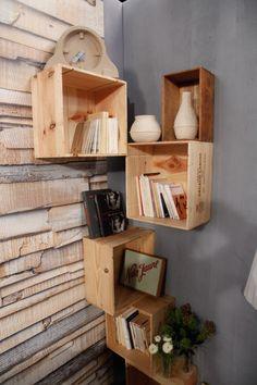 29 meilleures images du tableau deco caisse de vin. Black Bedroom Furniture Sets. Home Design Ideas