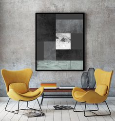 Black art, black and white art, grey art, black and white print, nordic print, grey prints, scandinavian design, large print, grey wall art Ideal for