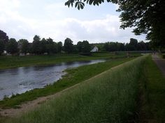 The river Murg in Rastatt