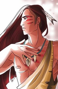 genderbend | Male!Pocahontas and Esmeralda