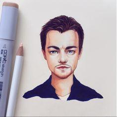 Leonardo DiCaprio by Lera Kiryakova