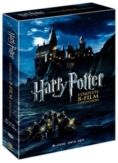 Harry Potter 8-Film Collection (RV $75) | Amy and Aron's Real Life Reviews
