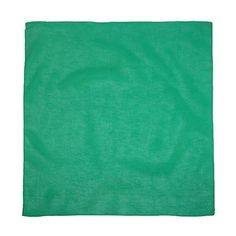 CTM Cotton Solid Color Bandanas, Forest Green CTM
